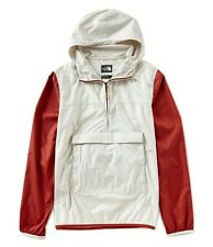The North Face Fanorak Windbreaker Vintage White/Red Multi Men's Size XXL