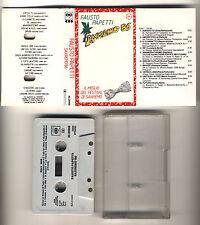 Mc FAUSTO PAPETTI Sanremo 86 - CBS 1986 Sax Musicassetta