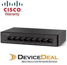 Cisco SF110D-08 8-port 10/100 Unmanaged Switch with Metal Chassis