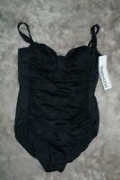 NWT Trimshaper Swimwear One Piece Plus Size 18 Swimsuit MSRP $109