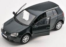 BLITZ VERSAND VW Golf V 5 dunkel grün / green Welly Modell Auto 1:34  NEU & OVP