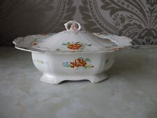 Alfred Meakin Pottery Art Deco Harmony Shape Small Veg Serving Tureen & Lid