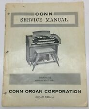 Original Conn Organ Service Manual-Theatrette Model 550,Style1,Type1