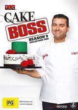 Cake Boss Season 9 Collection 2 | DVD Region 4 | 2-Disc Set | Brand New & Sealed