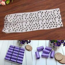 15pcs/1Roll Degradable Pet Waste Poop Bags Dog Cat Refill Garbag Up Clean I3G1