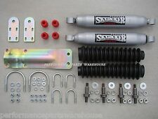 DUAL STEERING STABILIZER FRONT SHOCKS 67-91 CHEVY GMC TRUCKS SUBURBAN BLAZER