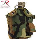 Rothco GI Style 1 QT Enhanced Nylon Military Tactical Canteen Cover