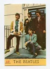 Rara FIGURINA N.59 THE BEATLES Album CANTANTI 1968 PANINI