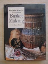 Basket Making~Olivia Barratt~Techniques & Projects~96pp HBWC~1998