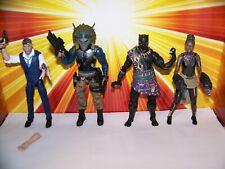 Marvel Legends Klaue Klaw Killmonger T'Chaka Shuri Black Panther Marvel Studios