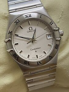 Omega Constellation ref 1552/862 Stainless Steel Quartz Gents' Watch, c1999.