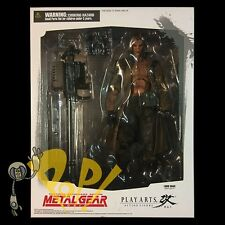 "METAL GEAR SOLID Liquid SNAKE 10"" Action Figure PLAY ARTS Kai MGS Authentic USA!"