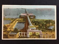 Vintage Postcard - Essex #A17 - RP Southend On Sea, The Pier ( Longest In World)