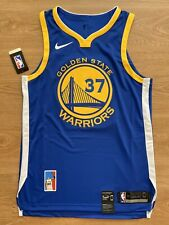 Nick Van Exel Size 44 Medium NWT Golden State Warriors Authentic Nike Jersey #37