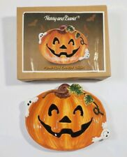 Harry And David Pumpkin Candy Dish Halloween Decorations Ghost