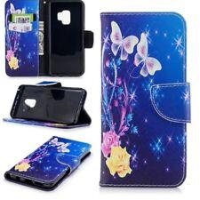 Cartera de bolsillo carcasa libro Diseño 31 para Samsung Galaxy S9 Plus G965f