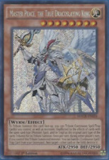 Yu-Gi-Oh! - Master Peace, the True Dracoslaying King MACR-EN024 Secret Rare,1'st