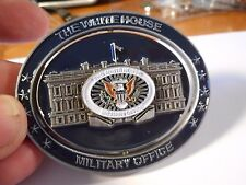 White House Military Office POTUS USMC USCG USAF USN Army Spinner Challenge Coin