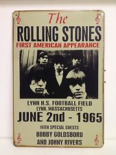 The Rolling Stones First American Appearance  Vintage  Metal Sign(30x40cm)