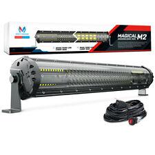"""MICTUNING M2 Quad-Row 21"""" LED Light Bar OffRoad Driving Lamp for Jk UTV Wrangler"""