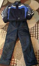 BRP Ski Doo X-Team Snowmobile Snow Ski Race Jacket Coat Size Small w/Bib Pants