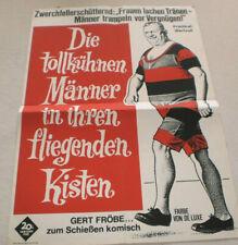 klein,Filmplakat,Plakat,DIE TOLLKÜHNEN MÄNNERN IN IHREN ..,GERD FRÖBE-4