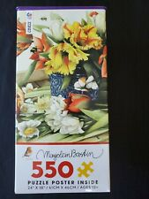 550 Piece Jigsaw Puzzle Ceaco Bastin Spring Tulips Free Shipping
