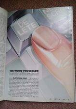 """Stephen King, """"The Word Processor,"""" Playboy - January, 1983 Back Issue"""