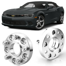 """2pcs 1"""" Wheel Spacers Centric Hub Adapters 5x4.7 67.1mm 14x1.5 For Chevy Camaro"""