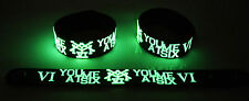 You Me At Six NEW! Glow in the Dark Rubber Bracelet Wristband Lived A Lie gg225
