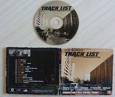 CD TRACK LIST 17 HIP HOP 15 TITRES MAFIA K1 DADOO PYROMAN SERUM
