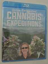New Jorge Cervantes' Cannabis Expeditions The Green Giants of California Blu-Ray