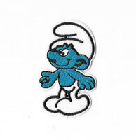 SMURFS Iron on / Sew on Patch Embroidered Badge Cartoon The Smurfs PT409