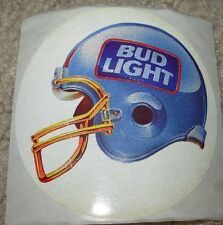 BUDWEISER Vintage 1993 Bud Bowl V Bud Light STICKER decal craft beer brewing