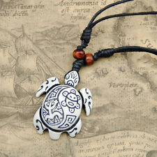 Cool man Hawaii Tribal style Surfing turtles Pendant Necklace RH211