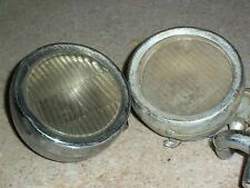 LQQK! Pair VINTAGE Cowl Fender Bumper Light FORD Chevy Dodge Car Truck OLD Auto