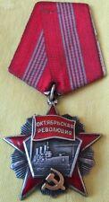 Original Soviet Order Of October Revolution/Serial Number/Russia/FREE SHIP IN US