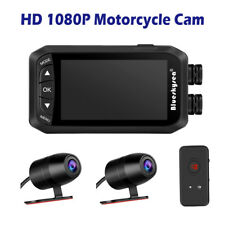 Blueskysea Dv128 Dual 1080P Ip67 Motorcycle Dash Camera Camcorder Dvr G-Sensor