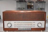 Schaub Lorenz Wiking Made in Germany 德国管收音机复古  راديو الأنبوبة الألما