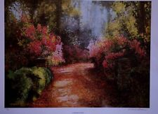 "Robert Rucker ""Garden Path"" Signed & Numbered"