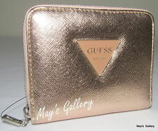 Guess Zip around Wallet Handbag Hand Bag Purse Coin  Case Tote Pouch Card NWT
