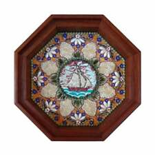 Sailor's Valentine Seashell Mosaic