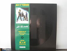 "EXTREME Stop The World 12"" VINYL BOX SET + POSTER Free UK Post"