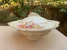 Old Collectible Antique J & G Made In England Sol Art Deco Sauce / Gravy Bowl