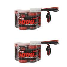 Venom 6V 5000mAh 5-Cell Hump Receiver NiMH Battery for HPI Baja x2 Packs