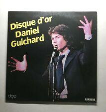 Ref1870 Vinyle 33 Tours /   disque d'or Daniel Guichard
