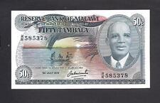 Malawi p-13b , UNC, 50 Tambala, 1978