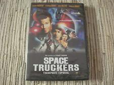 DVD SPACE TRUCKERS TRANSPORTE ESPACIAL DENNIS HOOPER NUEVA Y PRECINTADA