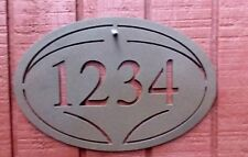 SPECIAL $3.00 OFF---Oval Address Plaque  Free ship