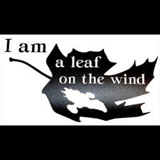 """I Am a Leaf on the Wind"" Firefly/Serenity Themed Vinyl Decal - Original Design"